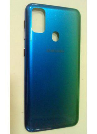 Задняя крышка Samsung M307 Galaxy M30s, синяя