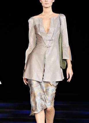 Шёлковая юбка giorgio armani.
