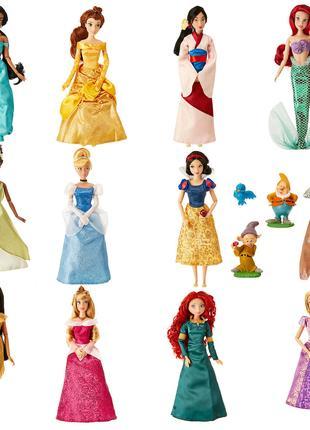 Большой набор Диснеевских принцесс 11 кукол