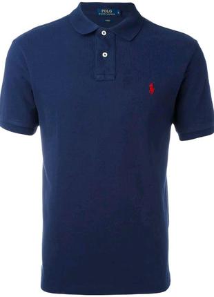 Мужская синяя футболка U.S. Polo Assn