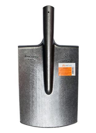 Лопата штыковая прямоугольная из рельсовой стали