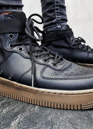 Мужские кроссовки Nike SF Air Force 1 Mid  KS  1245
