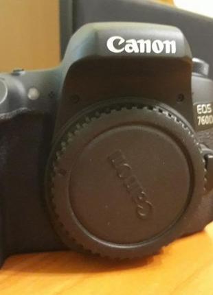 Canon 760D body (идеал, как с магазина)