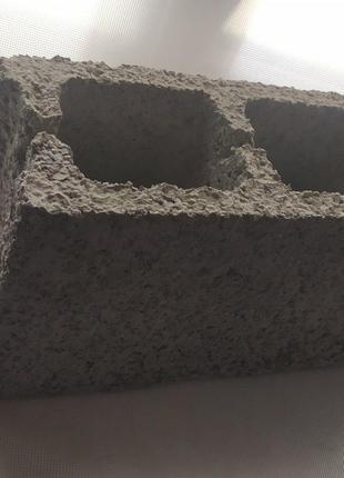 Шлакоблок перегородочный для внутреннего строительства