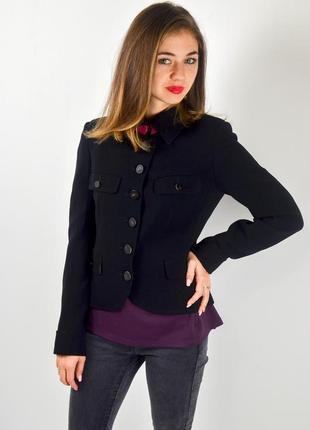 Aquascutum шерстяной классический блейзер, куртка на пуговицах...