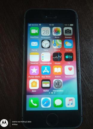 IPhone 5S A1533 16ГБ LTE оригинал из США Неверлок ID(icloud) чист