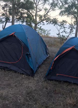 Аренда 2-ух и 3-ёх местной палатки, туристическое снаряжение