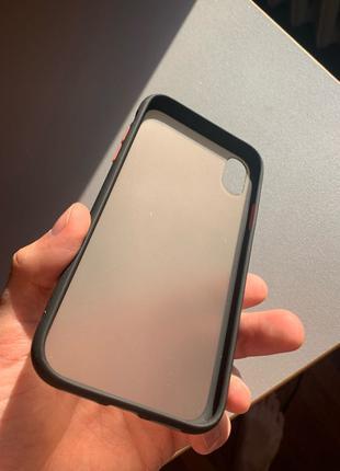 Чехол бампер iPhone XR