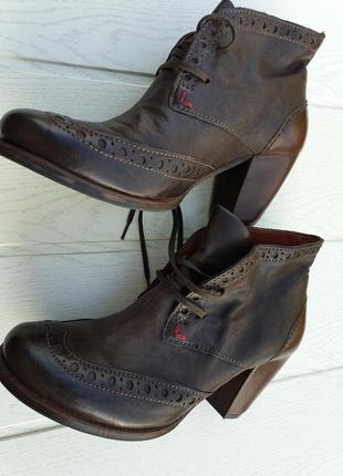 Кожаные ботинки airstep
