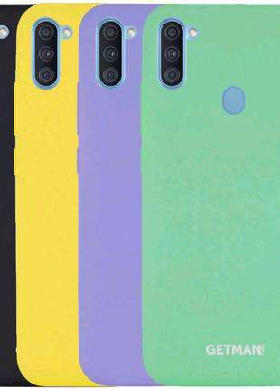 Чехол силиконовый для Samsung Galaxy A11/M11