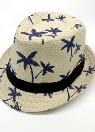 Детская летняя шляпа 13180н