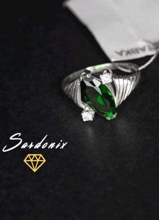 Кольцо с красивым камнем серебро 925 Винница