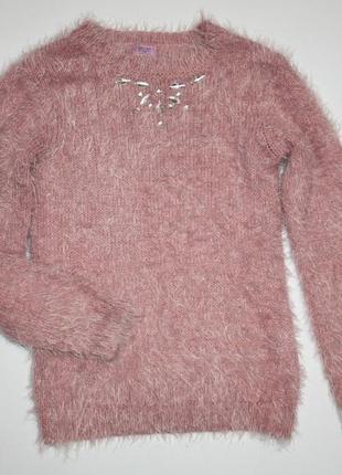 Нарядный свитер джемпер р9-10лет f&f