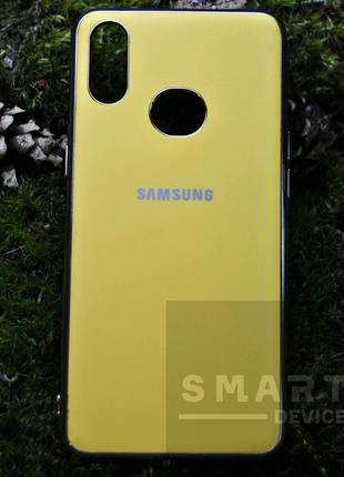 Чехол для Samsung A10S, желтый