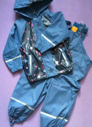 Комплект грязепруф дождевик 86/92 lupilu дощовик штаны штани к...