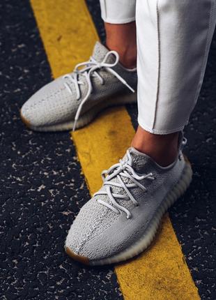 Adidas Yeezy boost 350 Sesame (Серый)| Кроссовки|Кеды|Обувь