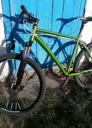 Велосипед 27.5 повітряна вилка