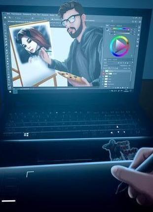 Digital рисунки (портреты)