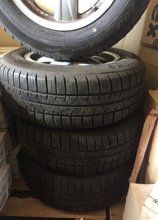Оригинальные колеса, диски и шины на AUDI разм.215/60R/15 5900 гр