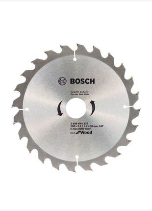 Пильный диск по дереву Bosch ECO 1902.2/1.4x30мм 24T