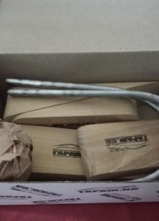 Набор шпателей для работы с автомобилным оловом