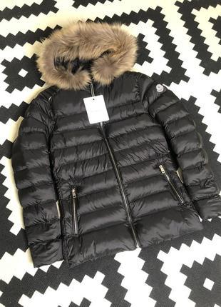 Зимняя курточка в стиле монклер. пуховик moncler