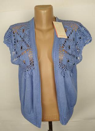 Блуза болеро новая стильное кружевное monsoon m