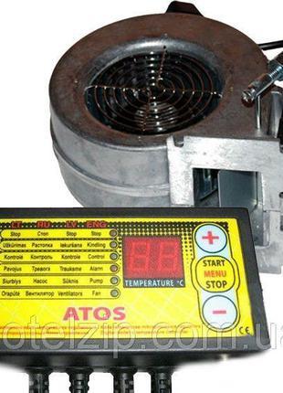 Автоматика для котла ATOS + вентилятор NWS 100 (Польша) Tech P...