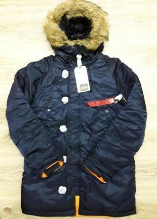 Куртка Alpha Industries slim fit n 3b.