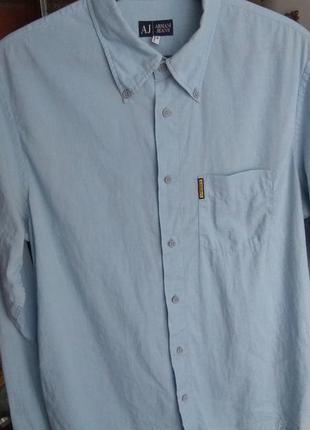 Фирменная рубашка armani jeans