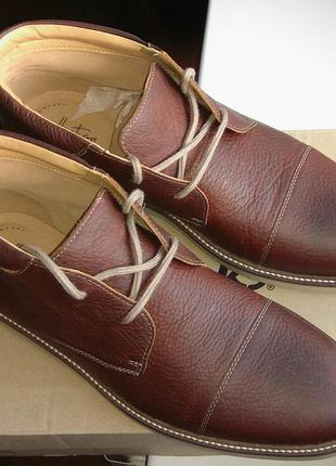 Ботинки clarks grandin top. новые, в фирменной коробке. оригинал!