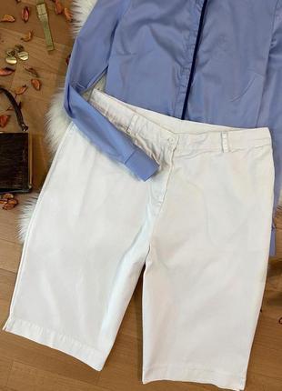 Актуальные котоновые шорты бермуды бриджи №261max