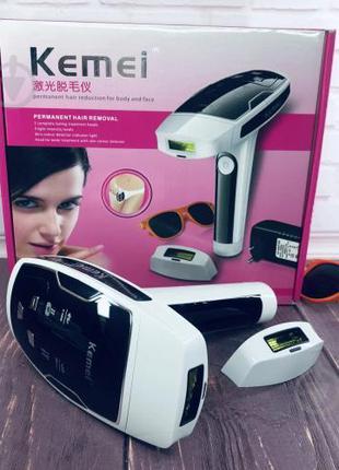 Лазерный эпилятор Kemei KM-6812 фотоэпилятор для лица и тела