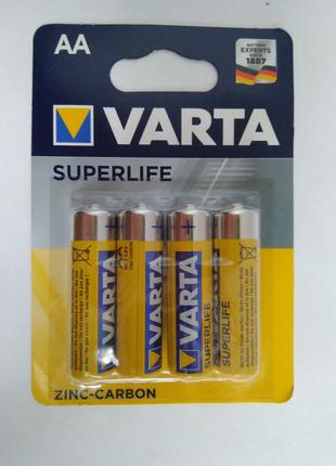 Батарейки Varta SuperLife AA 4шт.