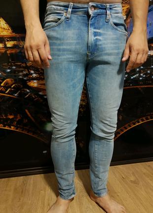 Джинсы мужские H&M размер 32 (43см)