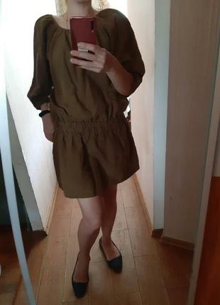 Платье лен/шелк🔥