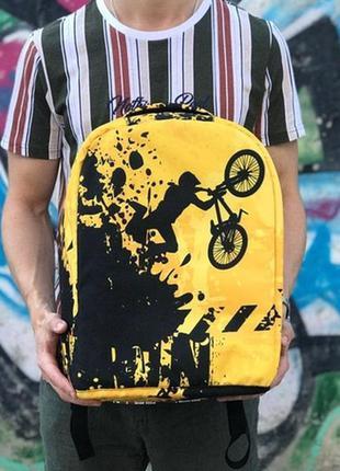 Рюкзак антикрадій антивор велосипед