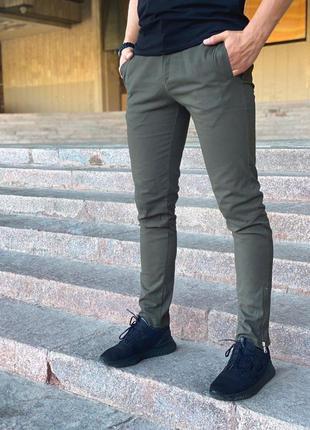 """Мужские коттоновые штаны intruder """"strider"""" хаки"""