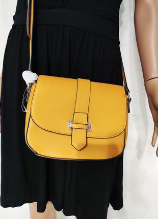 Стильная сумка, женская яркая сумка через плечо, сумка на длин...