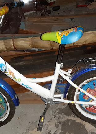 Велосипед детский на 3-5 лет