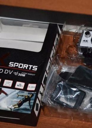 Экшн камера 4K SPORTS Ultra HD DV WiFi (White)