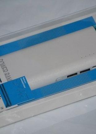 Power Bank 25000 mAh White, 2 USB
