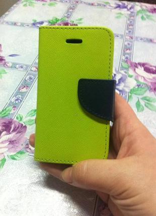 Для айфона 4s чехол новый доступный хит цвет кожа ультра флип ...