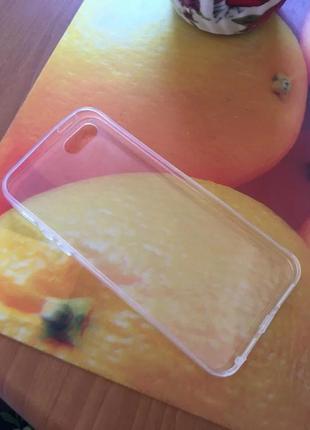 Esamday прозрачный силиконовый мягкий тпу чехол для 5 s se