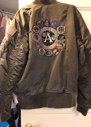 Куртка Alpha Industries MA-1 Apollo Battlewash СРОЧНО