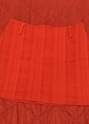 Юбка мини красная club donna турция (хs, s, m)