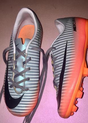 Обувь для футбола бутсы копы сороконожки nike  размер 31,5 сте...