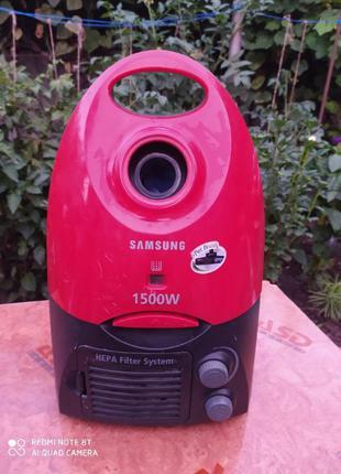 Пылесос Samsung (двигатель 2000Вт, новый мешок) Гарантия