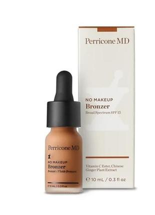 Perricone md no makeup bronzer spf15 бронзер , 10 мл