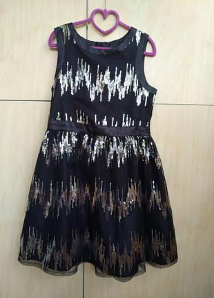 Нарядное платье by very на 9-10 лет